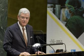 UN General Assembly president receives COVID-19 vaccine