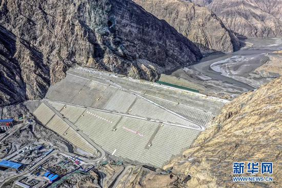 Progress made on construction of key hydro power plant in Xinjiang