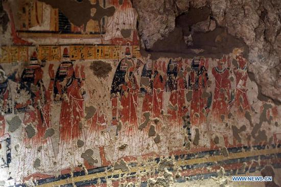Egypt opens two ancient tombs for visitors in Luxor after restoration