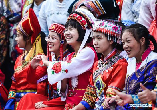 In pics: attendees seen at celebrations marking 70th anniversary of PRC founding