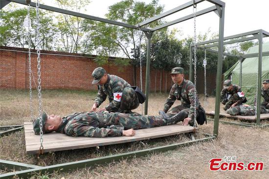 PLA Rocket Force unit holds logistics drill