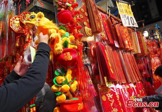 From food to decoration: Lunar New Year preparations underway in Hong Kong