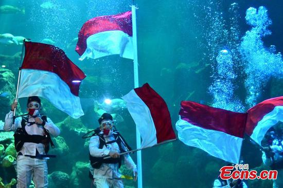 Indonesia's 75th Independence Day celebrated in Jakarta