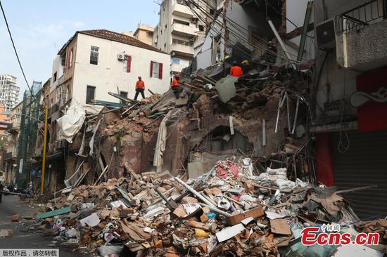 Beirut: 'Signs of life' detected under rubble one month after explosion