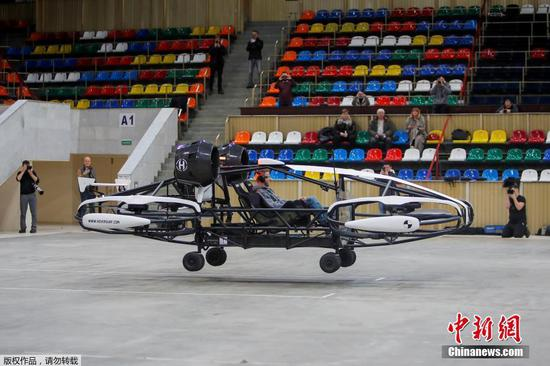 Russian company tests flying taxi