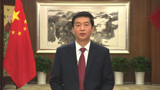 Liaison office director in HKSAR stresses